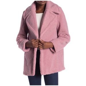 French Connection Faux Shearling Teddy Jacket